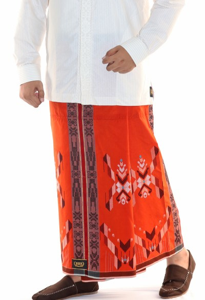 Songket Gunung Eksklusif Orange